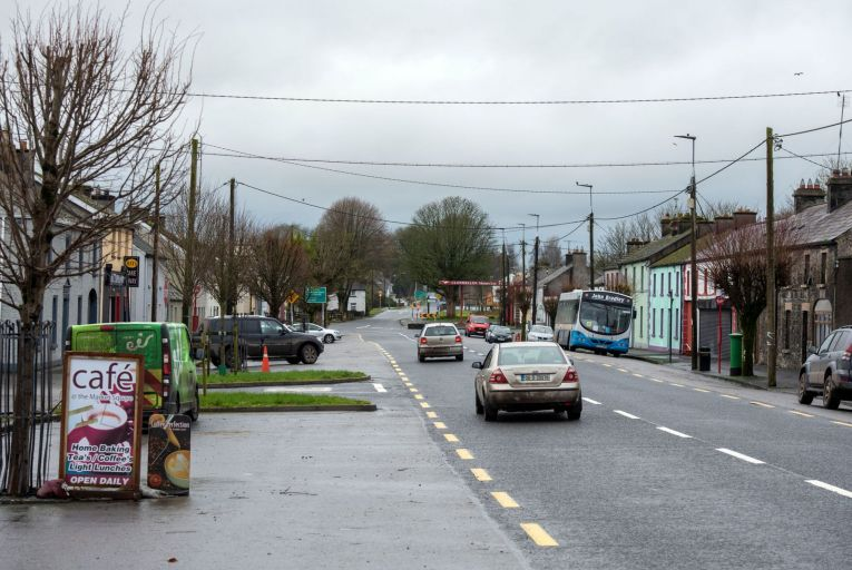 Clonmellon, Co. Westmeath where around half of the workforce commute to Dublin. Picture: Maura Hickey