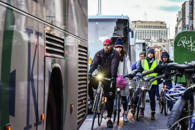 Traders threaten legal action over Liffey cycle lane