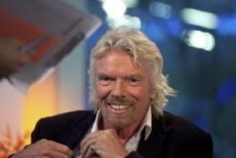 Branson moots banks at train stations