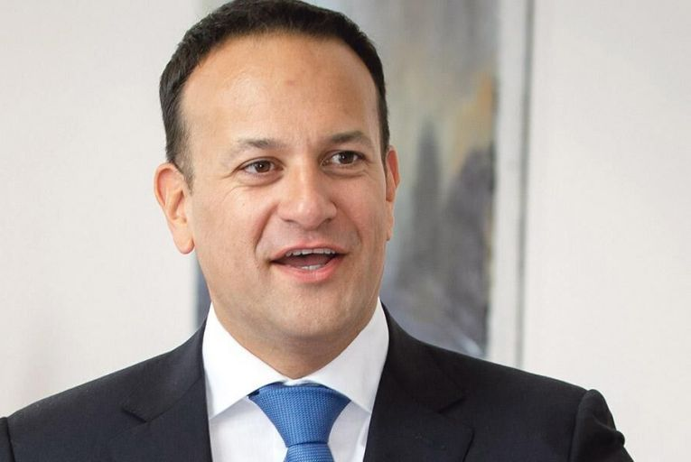 Leo Varadkar said of climate change: \'It is happening right now, it is man-made, and it is unprecedented and it is detrimental to human life\'