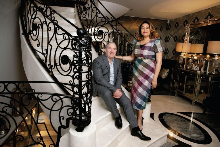 Valerie and Noel Moran: founded Prepaid Financial Services and sold it to EML Payments for just under €170m . Picture: Barry Cronin