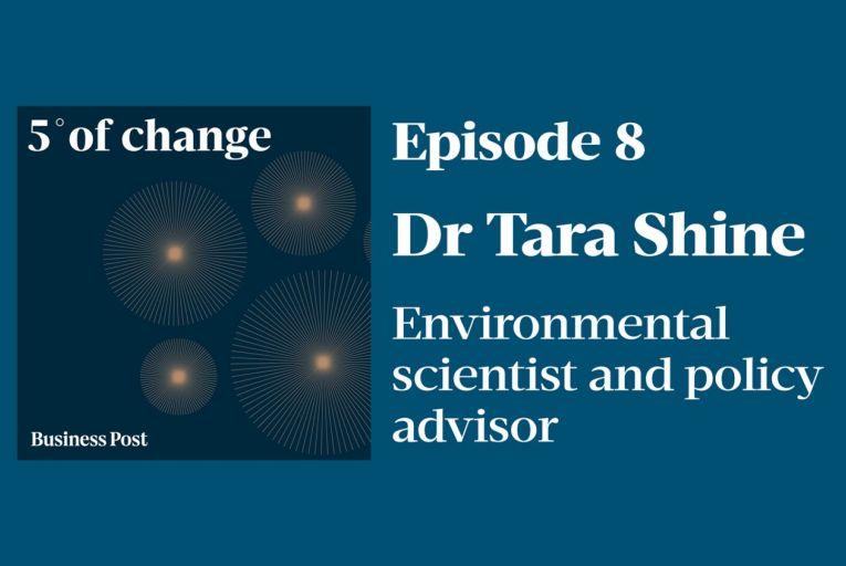 Podcast: Five Degrees of Change - Dr Tara Shine