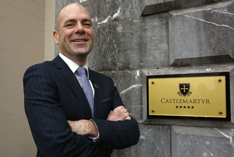 Brendan Comerford, Castlemartyr's general manager: 'Zoom fatigue has set in and people are in need of interaction.'