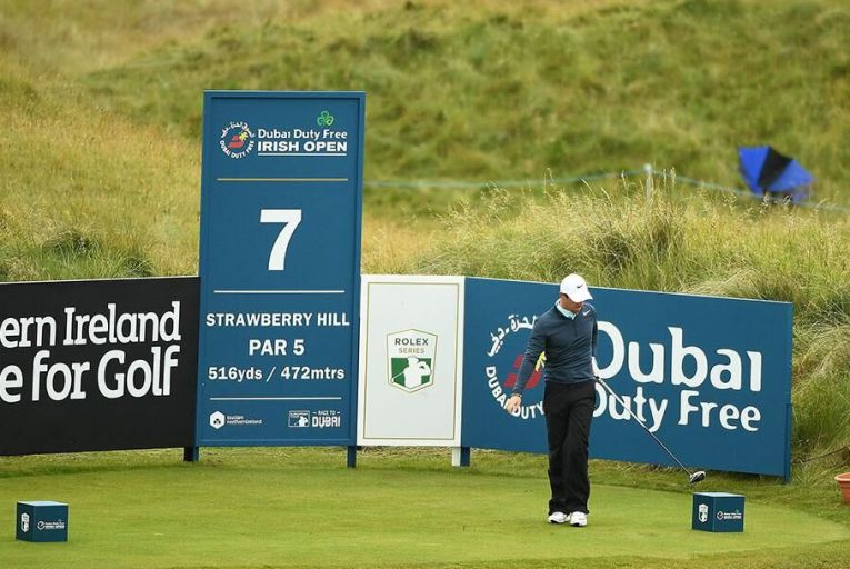 Rory McIlroy in action at this year\'s Irish Open in Portstewart Pic: Getty