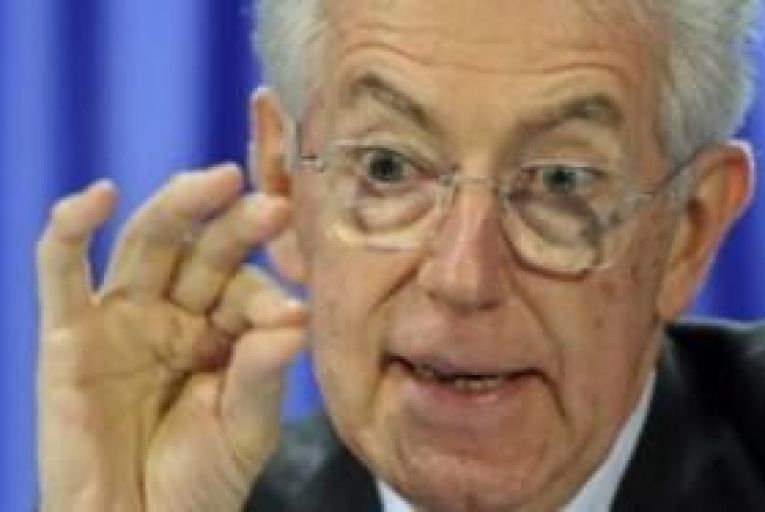 Monti says efforts to save euro need to be more credible