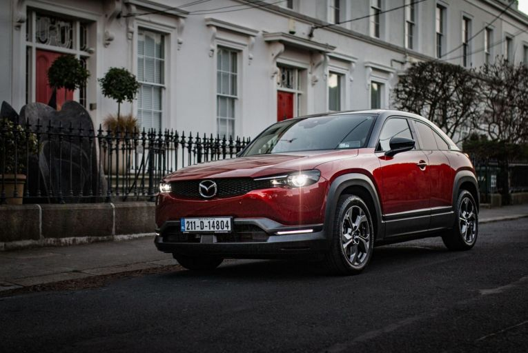 Test drive: Mazda's first electric car takes a different route