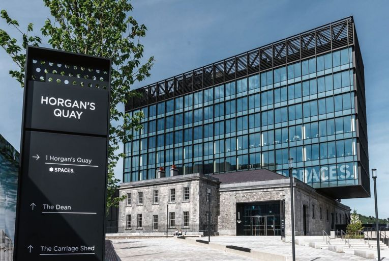 Horgan's Quay, now home to one of the most exciting mixed-use developments in Cork city . Picture: John Allen