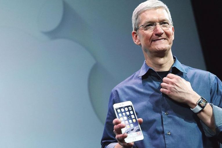 Tim Cook, chief executive, Apple Pic: Bloomberg