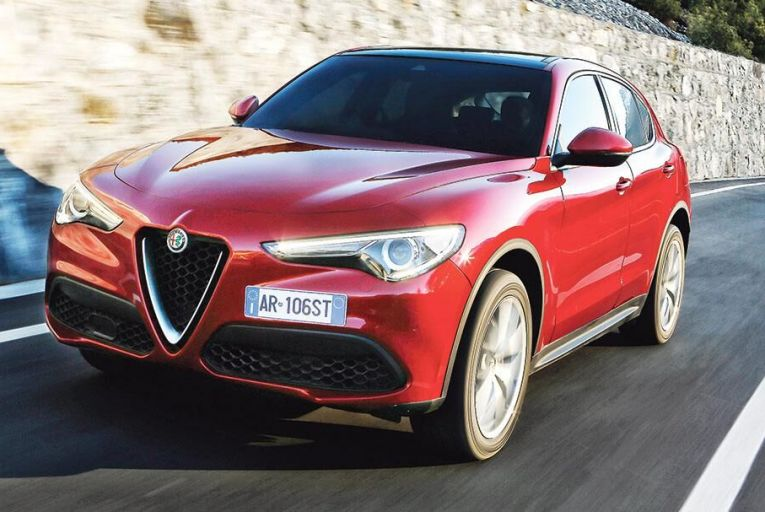 Alfa joins SUV market with the Stelvio