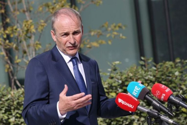Micheál Martin confirmed Gardái are investigating the weekend street party beside the Oliver Bond flats in Dublin. RollingNews.ie