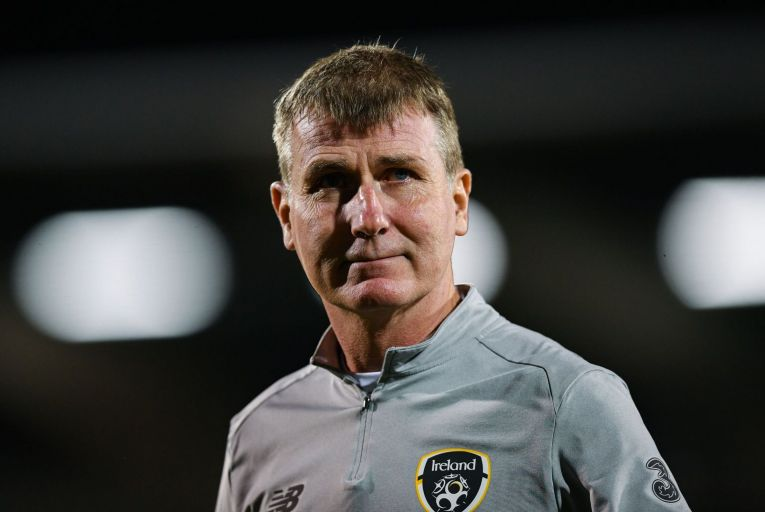 Stephen Kenny's first year as Ireland manager has been challenging for a number of reasons and he could have done without the continuing fallout from 'Videogate'. Picture: Getty