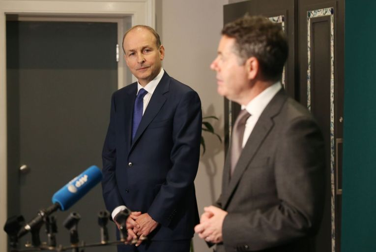 This coalition may not be the happiest; there were intriguing reports last week of a row over housing funding between Taoiseach Micheál Martin and Paschal Donohoe. Picture: RollingNews.ie