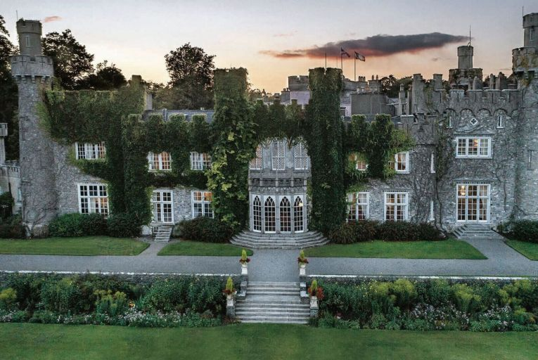 Luttrellstown Castle in Castleknock, Dublin, is offering a click-and-collect or delivery dinner service