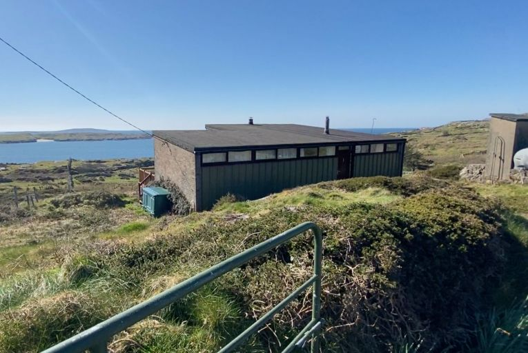The Box' in Roundstone, Co Galway, with views over Dog's Bay, sold for €600,000 after a 20-minute bidding war