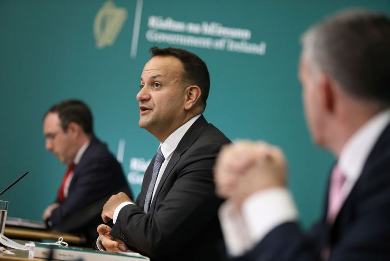 Leo Varadkar said the budget was 'good for business and good for workers.' Picture: Rollingnews.ie