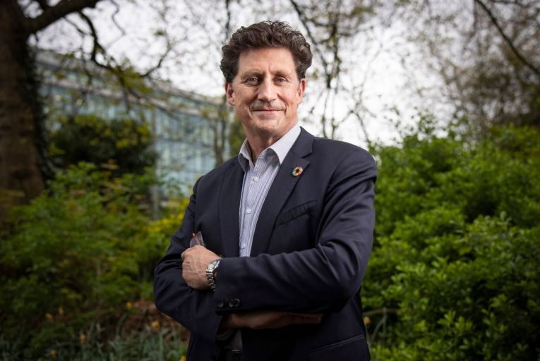 """Eamon Ryan: """"We will work with the data and digital industries. Let's use this country as a test bed to be really good at decarbonising the digital industry"""". Picture: Fergal Phillips"""
