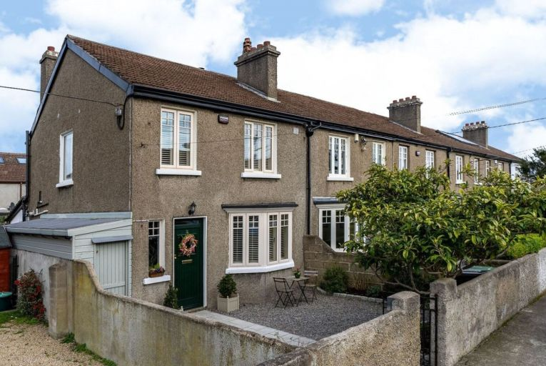 No 12 St Peter's Terrace in Glenageary comes to market in excellent decorative order