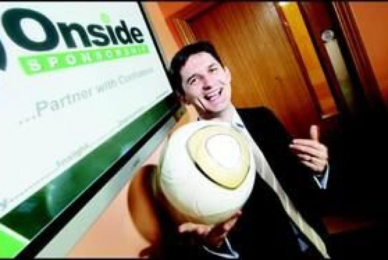 John Trainor, managing director of Onside Sponsorship: \'Domestic food brands are getting on board.\' Photo: Feargal Ward