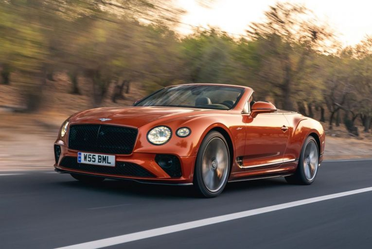 The new Bentley Bentayga Continental GT Speed Convertible: prices start from €440,000