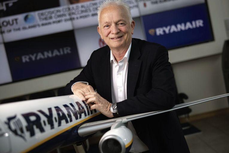 Eddie Wilson, chief executive of Ryanair