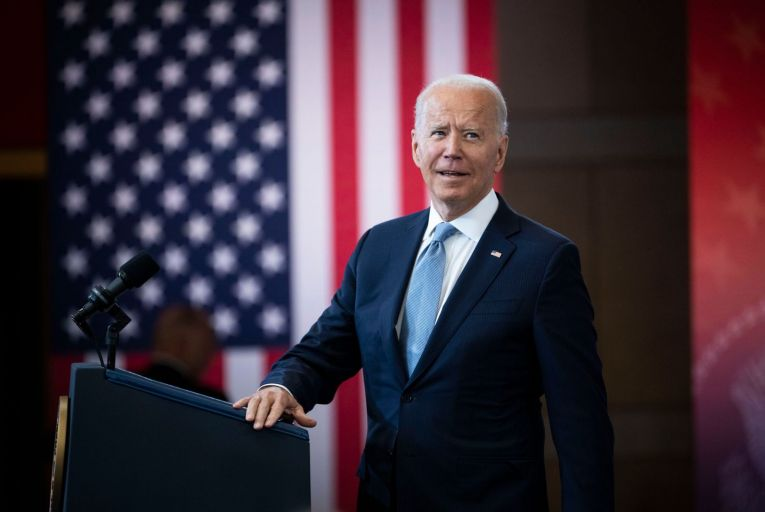 US president Joe Biden, who issued a sweeping executive order to eliminate anti-competitive business practices. Picture: Getty