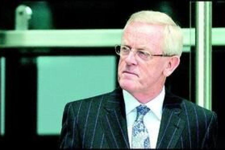 Frank Dunlop leaving the Dublin Circuit Criminal Court last Monday. Photo: Collins
