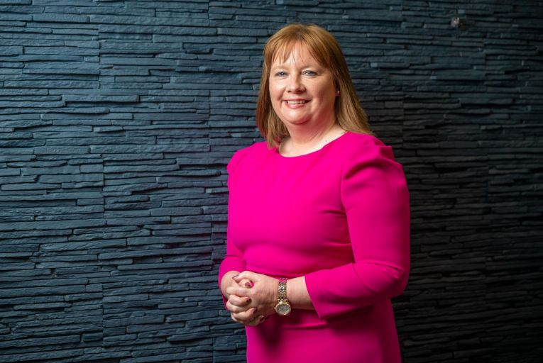 Paula Cogan, chief executive at Cognate Health: 'I believe it's important to be true to yourself and to respect others.' Picture: John Allen