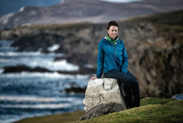 Saoirse McHugh: 'If we could shift the focus from profit to food production, we would see a corresponding refocus on preserving the natural area and ecosystems.' Picture: Michael Dillon