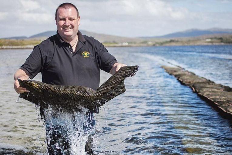 Jimmy Gallagher of Irish Premium Oysters