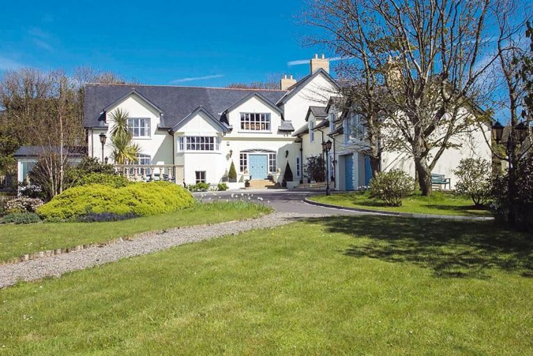 Springwell Lodge is set on four acres outside Bangor town
