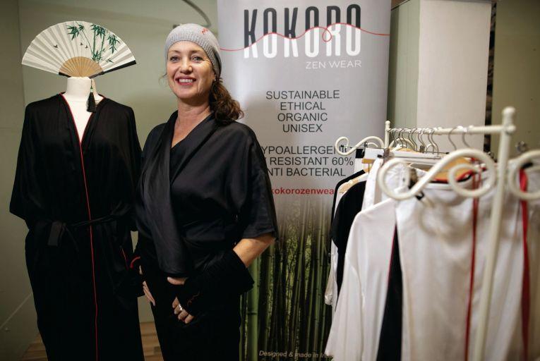 Sharon Farren, co-founder of Kokoro Organics