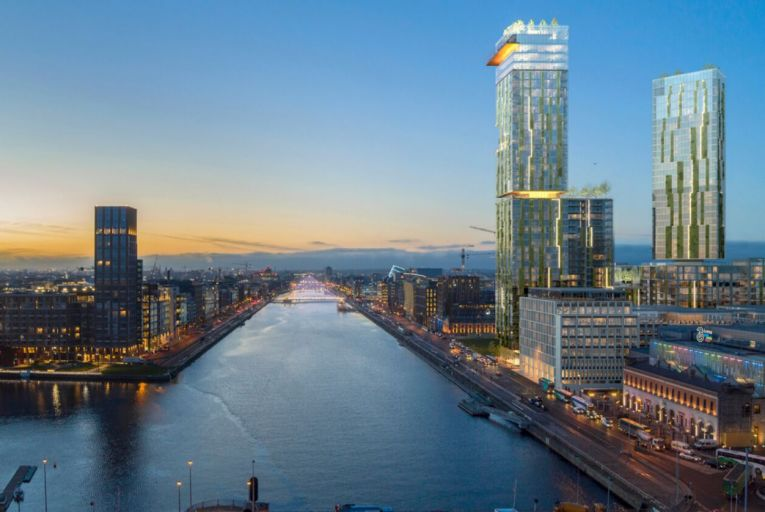 The proposed Ronan Group development in the Dublin Docklands