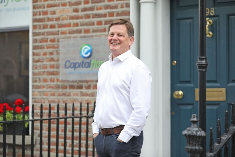 Ronan Horgan, chief executive of Capitalflow: Over the next couple of months we will sit down with Bunq, which already has customers here. Picture: Fergal Phillips