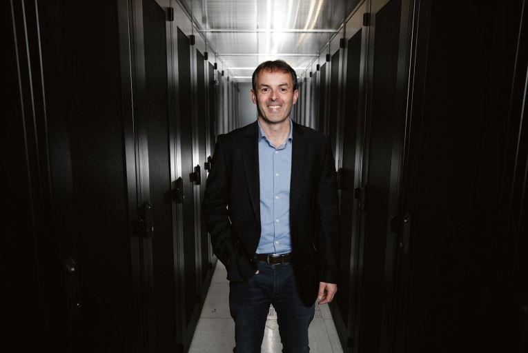 Paul Rellis, chief executive officer of Viatel, announcing the acquisition of Cork-based Nova Telecom