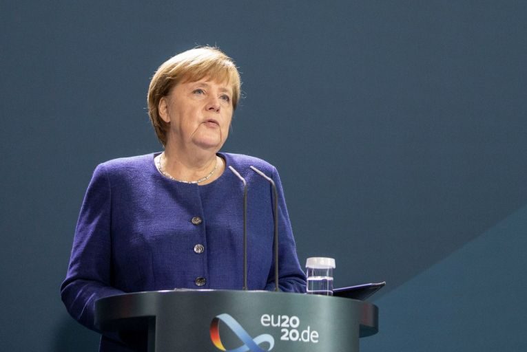 German chancellor Angela Merkel gave one of the best speeches of her life welcoming the election of Joe Biden and Kamala Harris