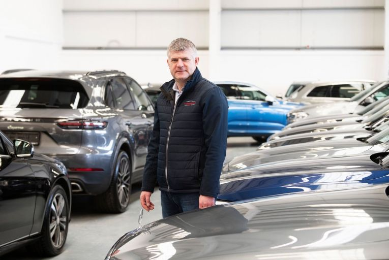 Niall Cunningham, owner of Cunningham Autopoint in Galway: business is facing a series of increased charges, including Vat Picture: Andrew Downes, Xposure
