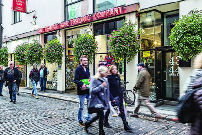 €2.75m for souvenir store at the heart of Temple Bar