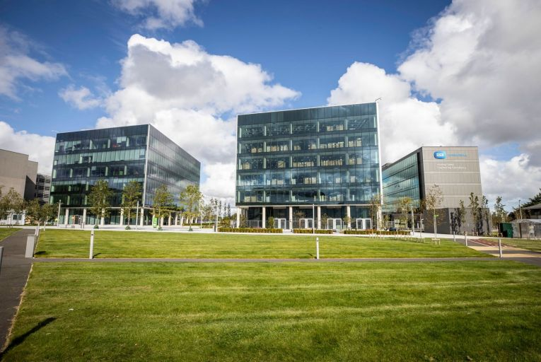 Dublin Airport Central's phase one development opposite Terminal Two has just been completed. Picture: Conor McCabe