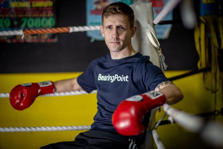 Eric Donovan: 'I don't take a lot of punishment. I'm a clever type of boxer'