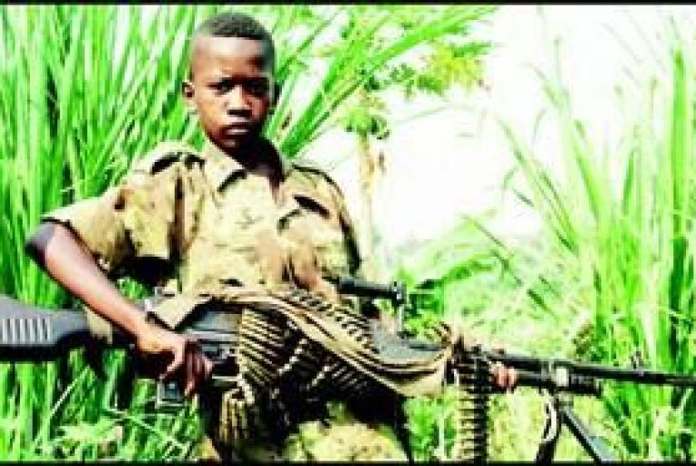 Ireland not fulfilling child soldier obligations