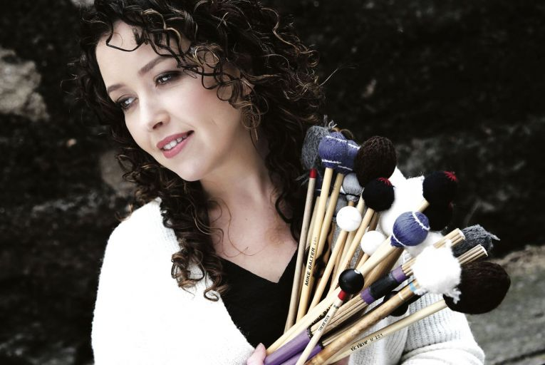 Caitriona Frost: the Cork-born percussionist will travel to Paris having been awarded a Centre Culturel Irlandais Music Performance Residency for 2021-2022