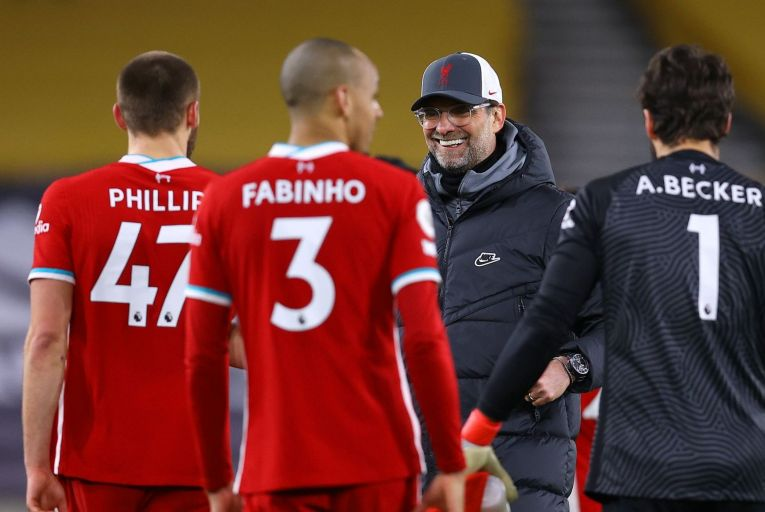 Jürgen Klopp, Liverpool manager, has football intelligence but has also displayed an emotional intelligence, a genuine connection with the fans. Picture: Getty