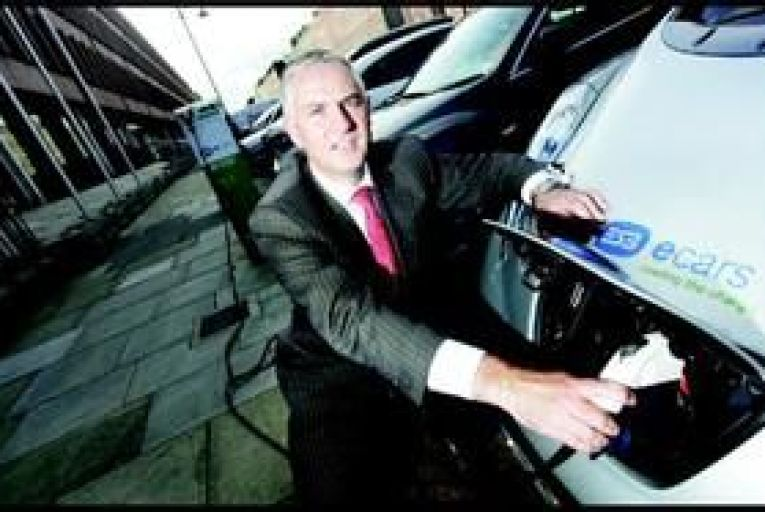 Towns get charged up for electric cars