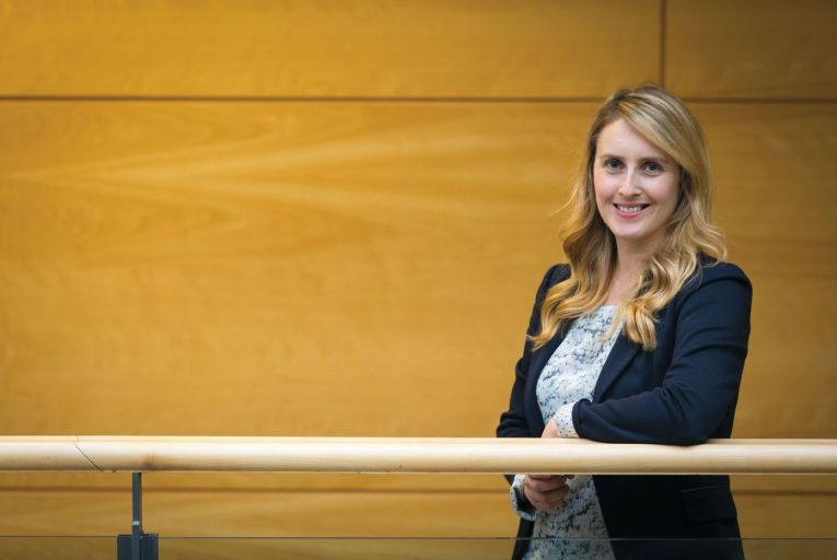 Dr Aideen O'Dochartaigh, postdoctoral research  fellow at UCD's College of Business. Picture: SON Photographic