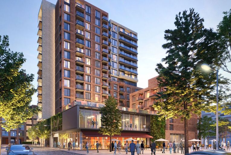 Hines, the multibillion-dollar US developer, was granted permission to build 416 build-to-rent apartments on the old Bailey Gibson packaging plant lands in Dublin 8 last September