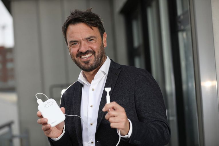 Dr Ross O'Neill, founder and chief executive at Neuromod Devices. Picture: Julian Behal
