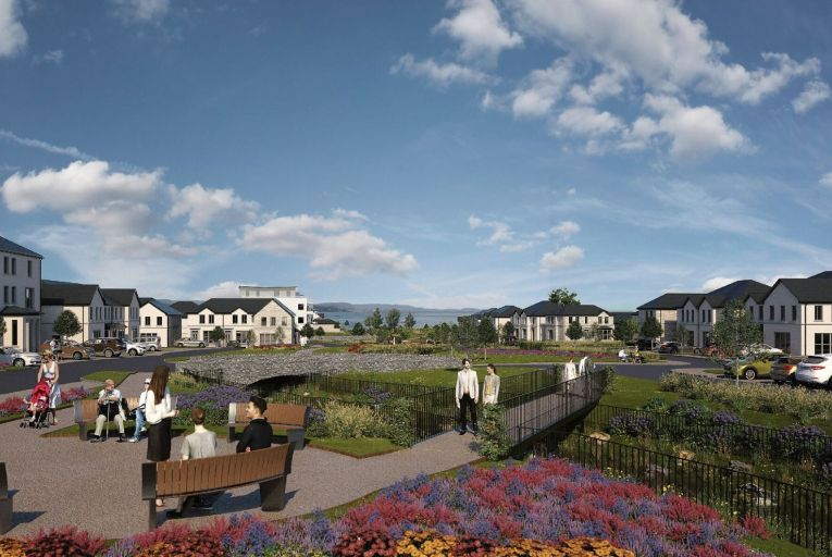 A development at Trusky East in Bearna in Co Galway has received planning
