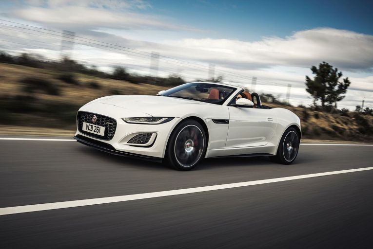 The F-Type: Jaguar has upped its design game with this model