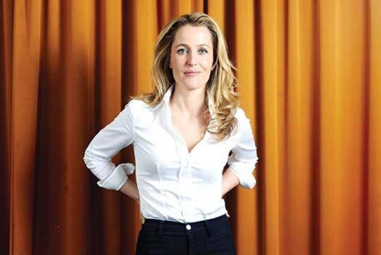 Gillian Anderson: 'I'm slowly coming to admit the fact that I am actually a sci-fi fan' Picture: Getty