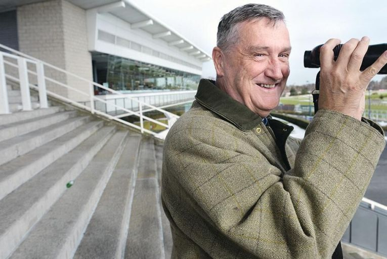 Leo Powell at Leopardstown Racecourse: 'I'm not a punter myself. I rarely have a bet: it's not for me' Pic: Bryan Meade